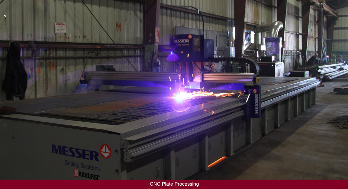 CNC Plate Processing