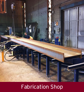 ISM Industrial Steel Manufacturing Fabrication Shop