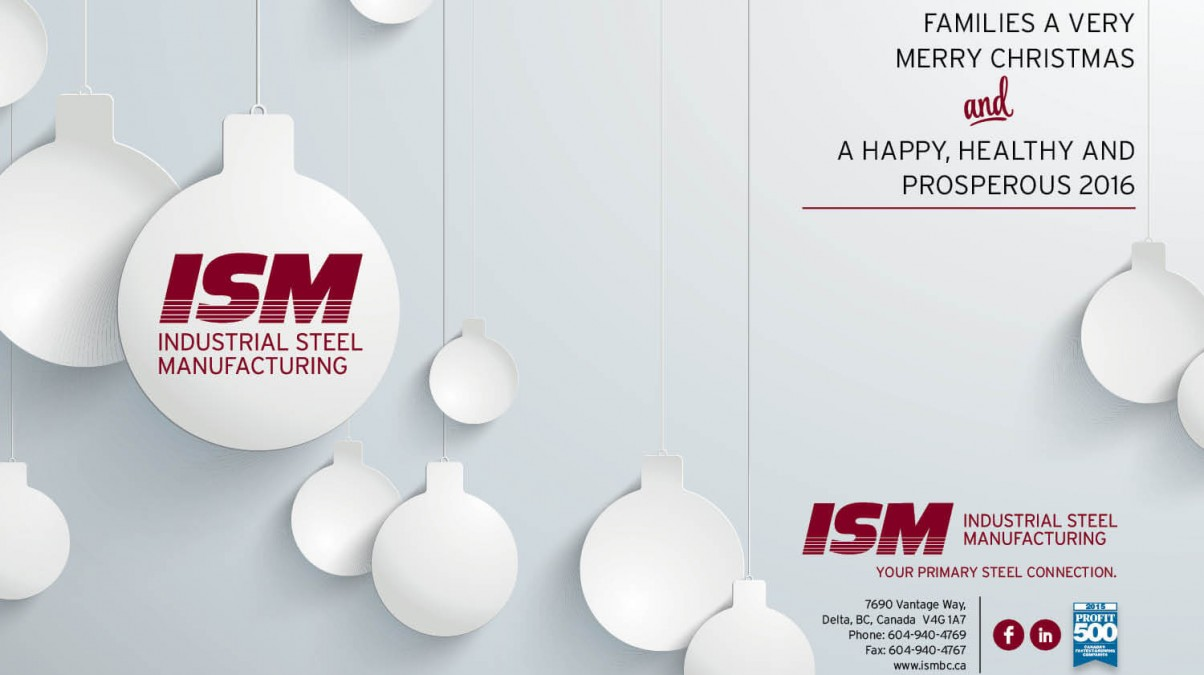 A Holiday Greeting from ISM to You!