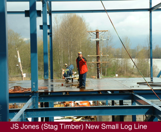 First ISM project in 2002, JS Jones (Stag Timber)